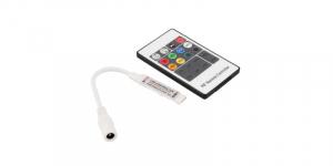 Controler banda LED RGB, telecomanda RF 20 taste, mufa 5.5-2.1 mama [0]