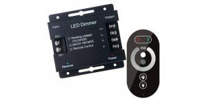 Variator led monocrom cu telecomanda touch cu 6 butoane, max 18A [0]