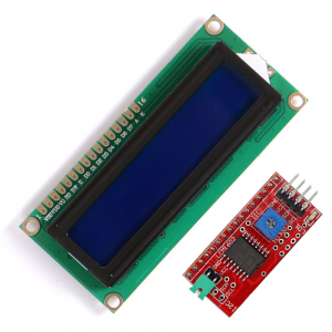 Display LCD 1602 albastru + adaptor I2C  OKY4005 [0]
