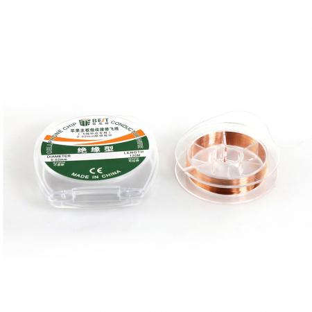 Fir din cupru pentru reconstructie circuite 0.02mm BST-CHIP [2]