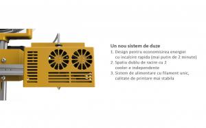 Imprimanta 3D SH105L 3 in 1 (Printare+Gravare Laser+Decupare Laser) [2]