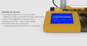 Imprimanta 3D SH105L 3 in 1 (Printare+Gravare Laser+Decupare Laser) [1]