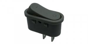 Intrerupator tip rocker ON-OFF 250V/6A gri KCD1-101-10 [0]