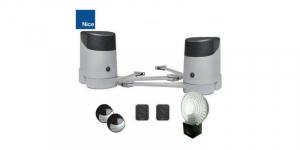 Kit automatizare porti batante NICE HOPPKIT [1]