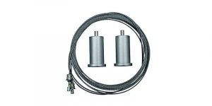 Kit cablu 80 cm, pentru suspendare panou LED [0]