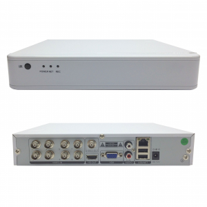 KIT COMPLET: DVR 8 canale FullHD + 4 camere dome 2.0MP + 4 camere bullet 2.0MP [1]