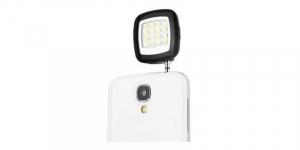 Lanterna selfie suplimentara cu LED-uri, pentru telefoane mobile, conector jack 3.5 [0]