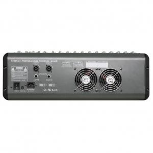 Mixer cu amplificator 8 canale 860D, 2 x 650W [2]