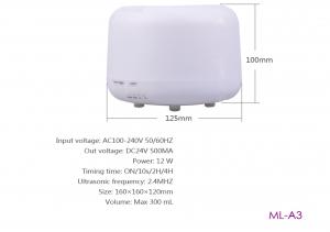 ML-A3 Difuzor aromaterapie alb cu telecomanda ( CADOU ULEI LAVANDA 10 ML ) [3]
