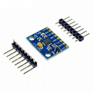 Modul accelerometru cu giroscop pe 3 axe cu senzor GY-521 MPU-6050 [2]
