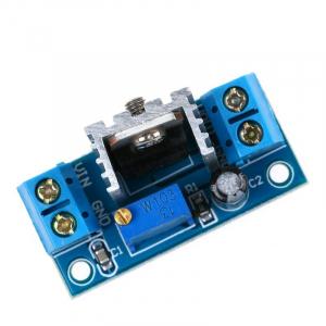 Modul convertor DC-DC coborator de tensiune (step down), liniar, IN:4.2-40V, OUT:1.2-37V (max1.5A), LM317 [0]