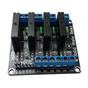 Modul cu 4 relee Solid State, Ucomanda-5V, max.2A-250VAC [0]