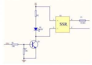 Modul cu un releu SSR, Ucomanda-5V, max.2A-240VAC [3]