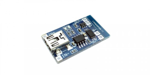 Modul de incarcare acumulator miniUSB , fara circuit de protectie [1]