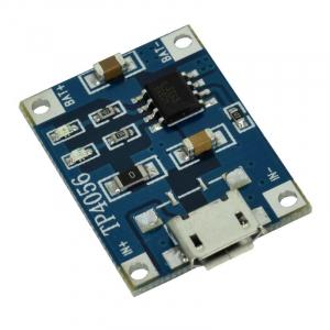 Modul de incarcare baterie microUSB TP4056 4.5-5V 1A [0]