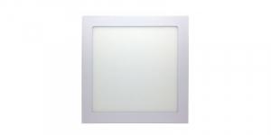 Panou cu LED patrat incastrabil, diametru 30cm, alb natural, 4500K, ultra-slim, 24W, 85-265V AC, (driver 54-96V) [0]