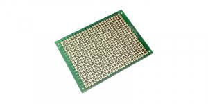 Placa de Test Gaurita, Verde, 70x50mm 432 puncte de lipire, placa universala circuite [1]