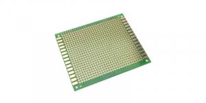 Placa de Test Gaurita, Verde, 90x70mm 750 puncte de lipire, placa universala circuite [1]