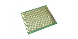 Placa de Test Gaurita, Verde, 90x70mm 750 puncte de lipire, placa universala circuite [0]