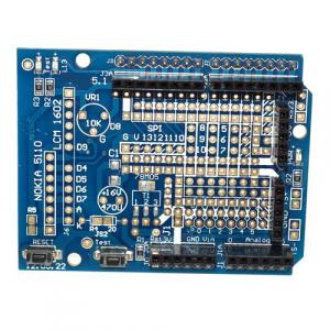 Placa prototip cu MINI breadboard pentru UNO R3 OKY2103-1 [1]