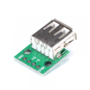 Placuta prototip cu USB mama DIP [0]