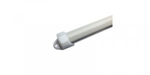 Profil aluminiu / Canal Banda Led Hard Strip, capac alb mat, Lungime 1m [0]