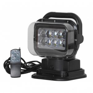Proiector LED auto 50W, 10 LED-uri, 12-24V, cu telecomanda [1]