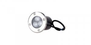 Spot incastrabil LED, 3W, alb cald, 220V [0]