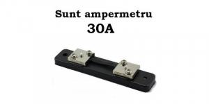 Sunt 30A 75mV ampermetru analogic de panou [1]