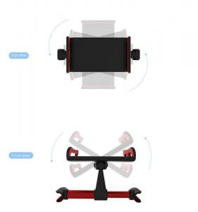 Suport auto pentru telefon/tableta cu prindere pe bratele tetierei [1]