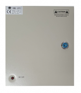 Sursa alimentare 12V / 10A cu 9 canale in cutie de tabla POWER BOX10A [0]