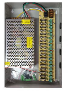 Sursa de alimentare 12V / 20A cu 18 canale POWER BOX20A [1]