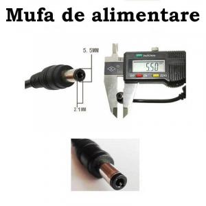 Sursa de alimentare 6V 1A mufa 5.5x2.5mm JSW-006F-1000K [1]