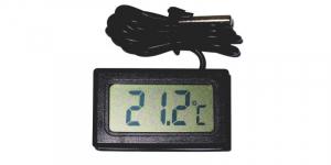 Termometru digital negru de panou TPM-10-BK [0]