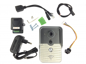 Videointerfon IP Wireless, conectare Smartphone [2]