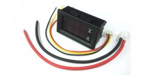 Voltmetru ampermetru cu afisaj dual LED 0-100V, 10A, DSN-VC288 [1]