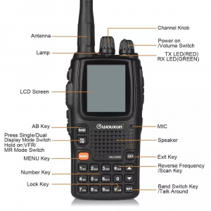 Wouxun KG-UV9D Plus Multi-Band Portabil [2]