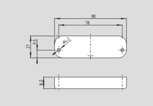 Actuator magnetic BPS 40S-11