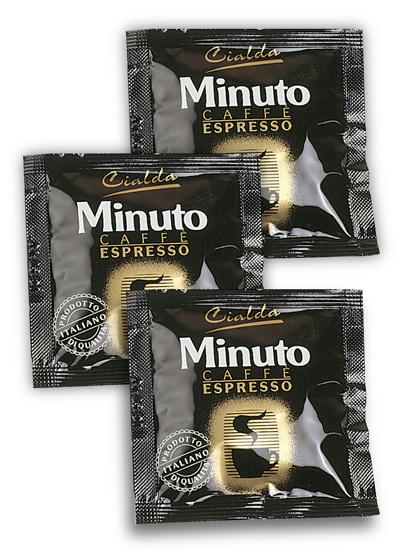 300 Paduri Cialde Hartie Cafea Artizanala Espresso Minuto, Ese 38 mm, Haiti Roma 0