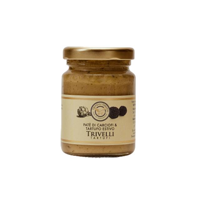 Pate de Anghinare cu Trufe de Vara, de Post, 90 gr, Trivelli Tartufi [0]