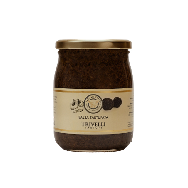Sos cu Trufe, Salsa con Tartufo 5%, de Post, 500 gr, Trivelli Tartufi [0]