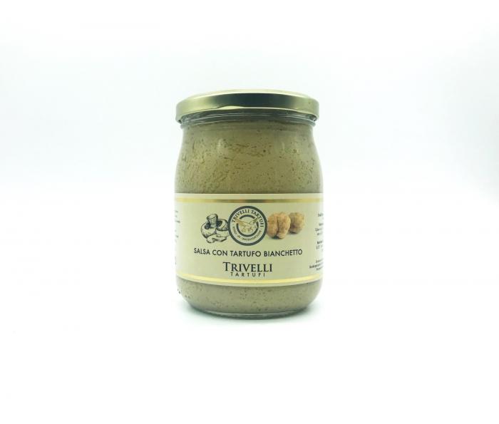 Crema-de-Trufe-Bianchetto-5-%-Trufe Albe-45-gr-Trivelli-Tartufi 0