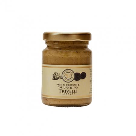 Crema de Paste Artizanala cu Anghinare si Trufe de Vara de Post 90 gr, Trivelli Tartufi0