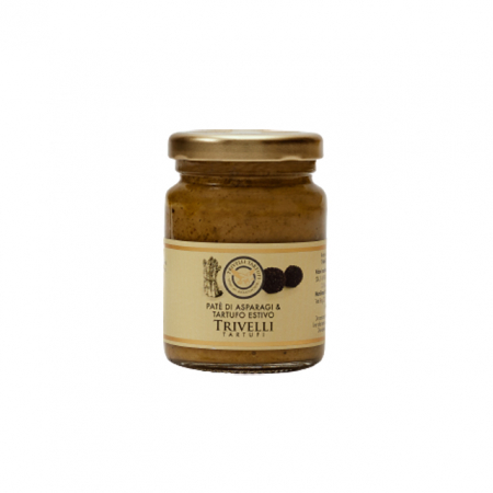 Crema  Artizanala cu Sparanghel si Trufe de Vara de Post, 90 gr, Trivelli Tartufi0