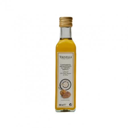 Ulei de Masline Extravirgin Artizanal cu Trufe Albe, 250 ml, Trivelli Tartufi0