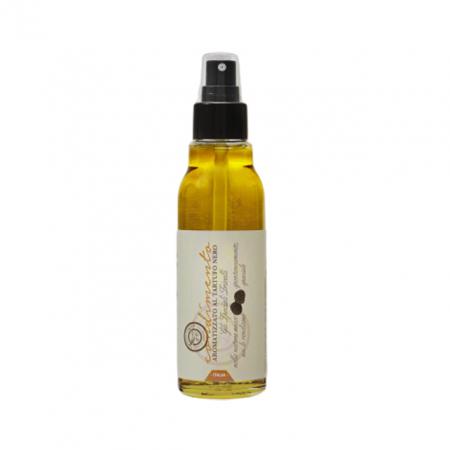 Spray Ulei de Masline Extravirgin Artizanal cu Trufe Negre Fine, 100 ml, Trivelli Tartufi0