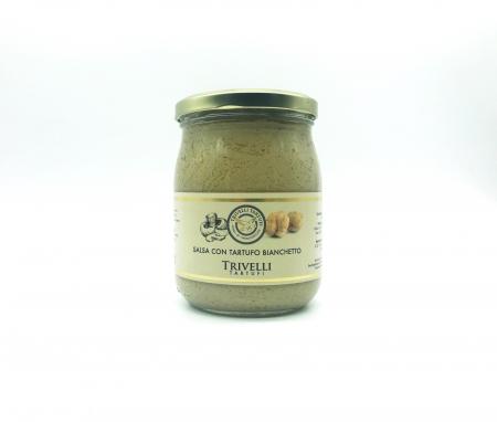 Crema Artizanala de Trufe Albe Bianchetto 5%, 45 gr, Trivelli Tartufi0
