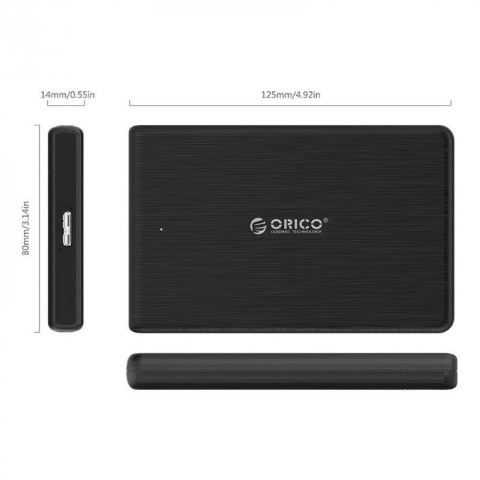 Rack Orico 2189U3 USB 3.0 Black [1]