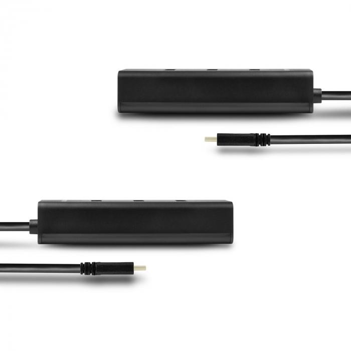 4x USB3.0 Charging Hub, MicroUSB Charging Connector, Type-C [12]