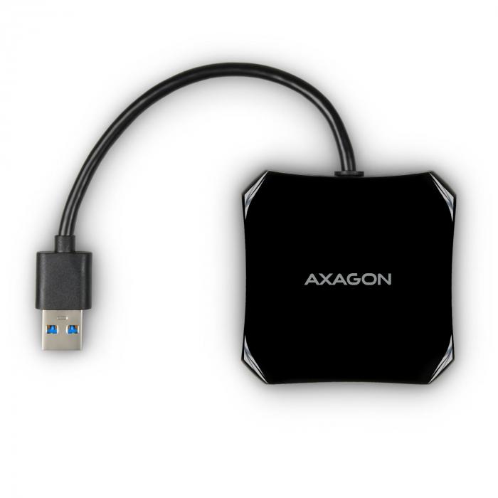 4x USB3.0 QUATTRO Black Hub [3]